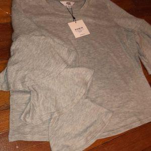 BB Dakota Tops - Long sleeve gray top